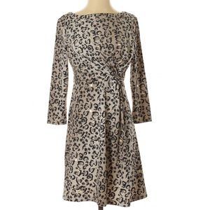 NWT Rare Tracy Negoshian Animal Print Dress S
